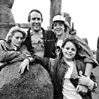 Chevy Chase, Beverly D'Angelo, Dana Hill, and Jason Lively in National Lampoon's European Vacation (1985)