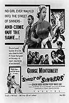 Street of Sinners (1957) Poster