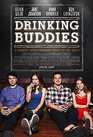 Anna Kendrick, Ron Livingston, Olivia Wilde, and Jake Johnson in Drinking Buddies (2013)