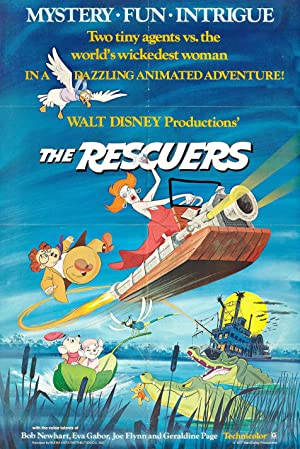 The Rescuers (1977) Dual Audio (Hindi-English) 480p [300MB] || 720p [800MB]