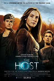 Saoirse Ronan, Max Irons, and Jake Abel in The Host (2013)
