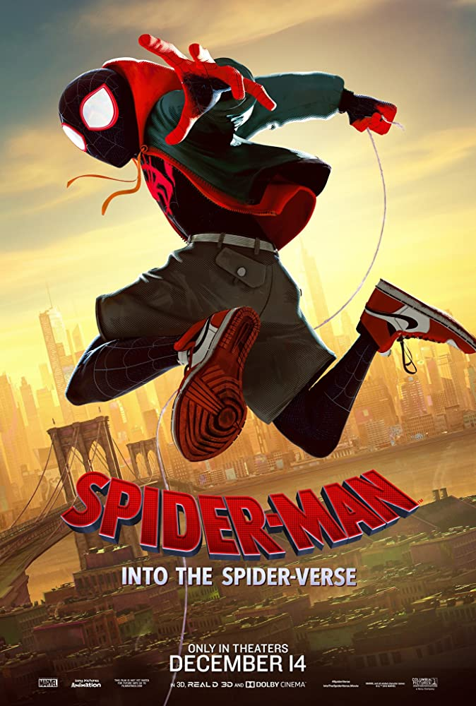Spider-Man Into the Spider-Verse (2018) ORG Dual Audio 720p | 480p BluRay x264 [Hindi – English] ESubs 700MB | 400MB [ADMIN]