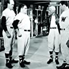 Russ Brown, Nathaniel Frey, James Komack, and Albert Linville in Damn Yankees (1958)