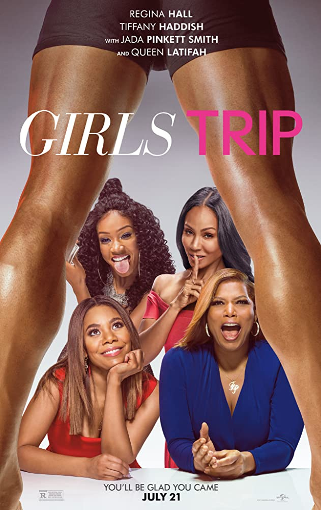 Jada Pinkett Smith, Queen Latifah, Regina Hall, and Tiffany Haddish in Girls Trip (2017)