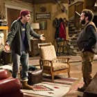 Ashton Kutcher and Danny Masterson in The Ranch (2016)