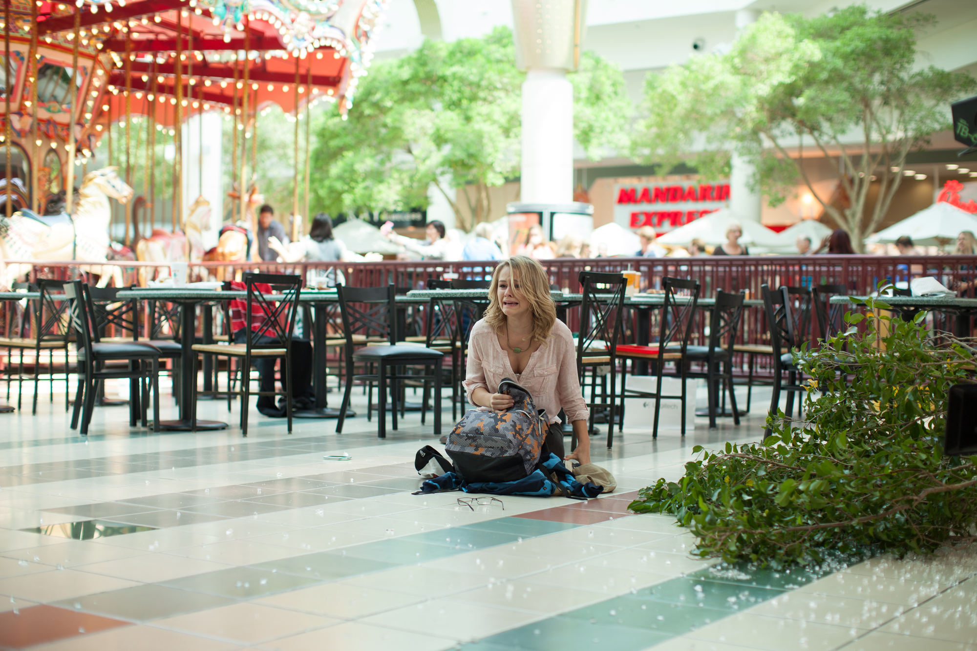 Cassi Thomson in Left Behind (2014)