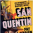 Humphrey Bogart, Pat O'Brien, and Ann Sheridan in San Quentin (1937)