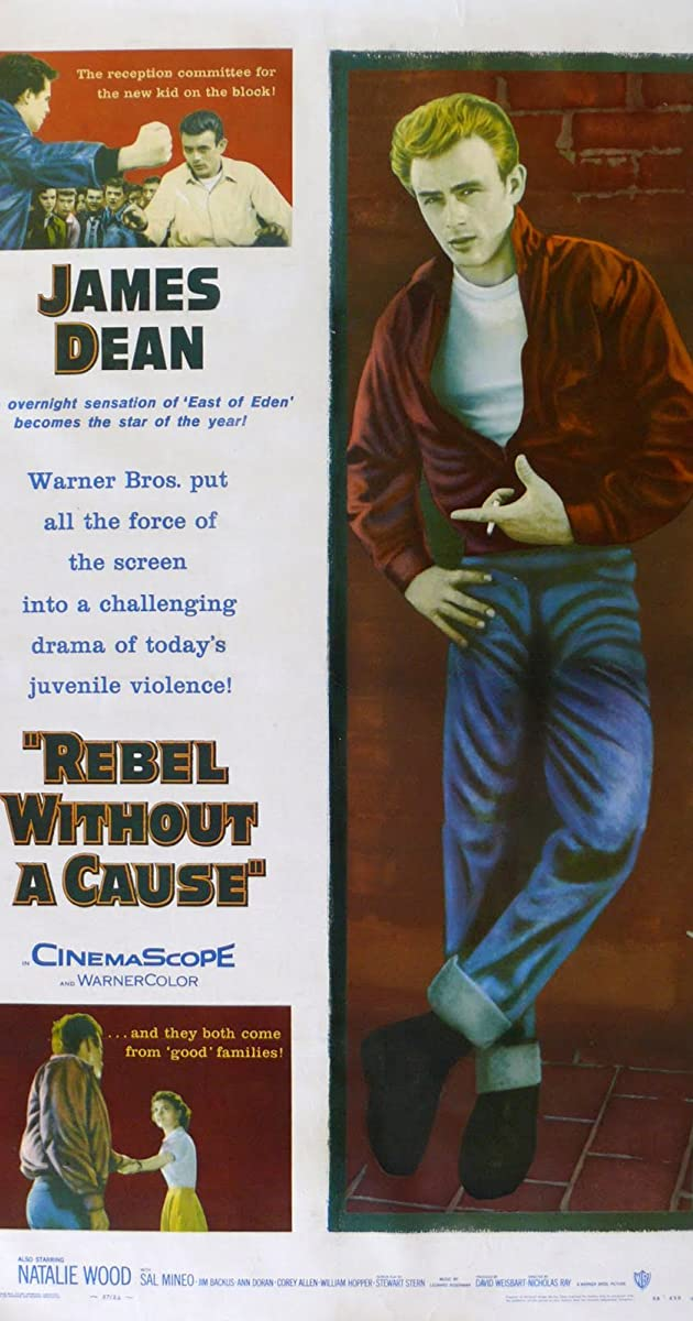 Watch Full HD Movie Rebel Without a Cause (1955)