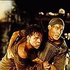 Ray Liotta and Kevin Dillon in No Escape (1994)