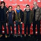 Gael García Bernal, Mark Monroe, Marc Silver, Thomas Benski, and Lucas Ochoa at an event for Who Is Dayani Cristal? (2013)
