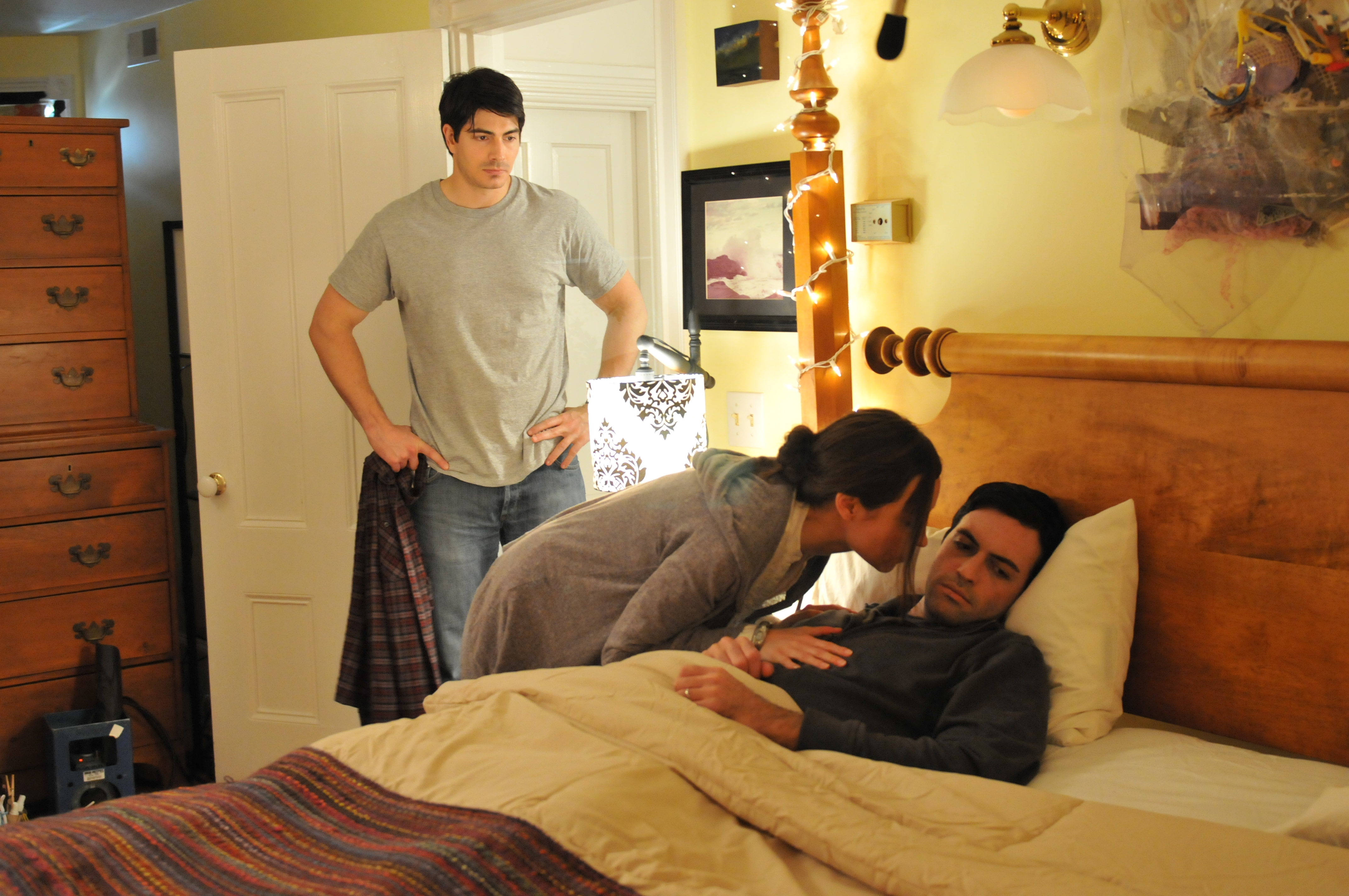 Brandon Routh, Reid Scott, and Courtney Ford in Missing William (2014)