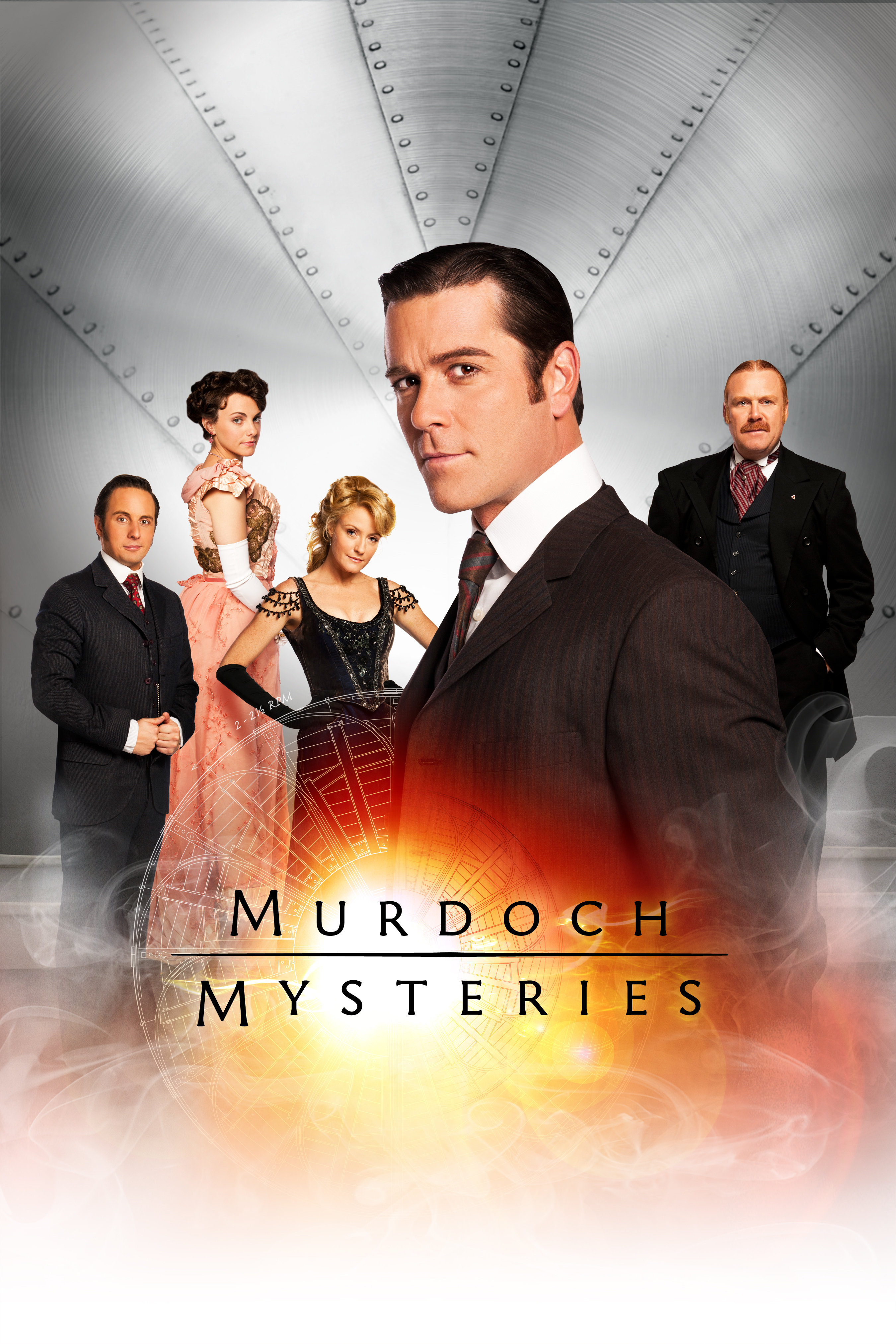 MERDOKO PASLAPTYS (7 sezonas) / MURDOCH MYSTERIES