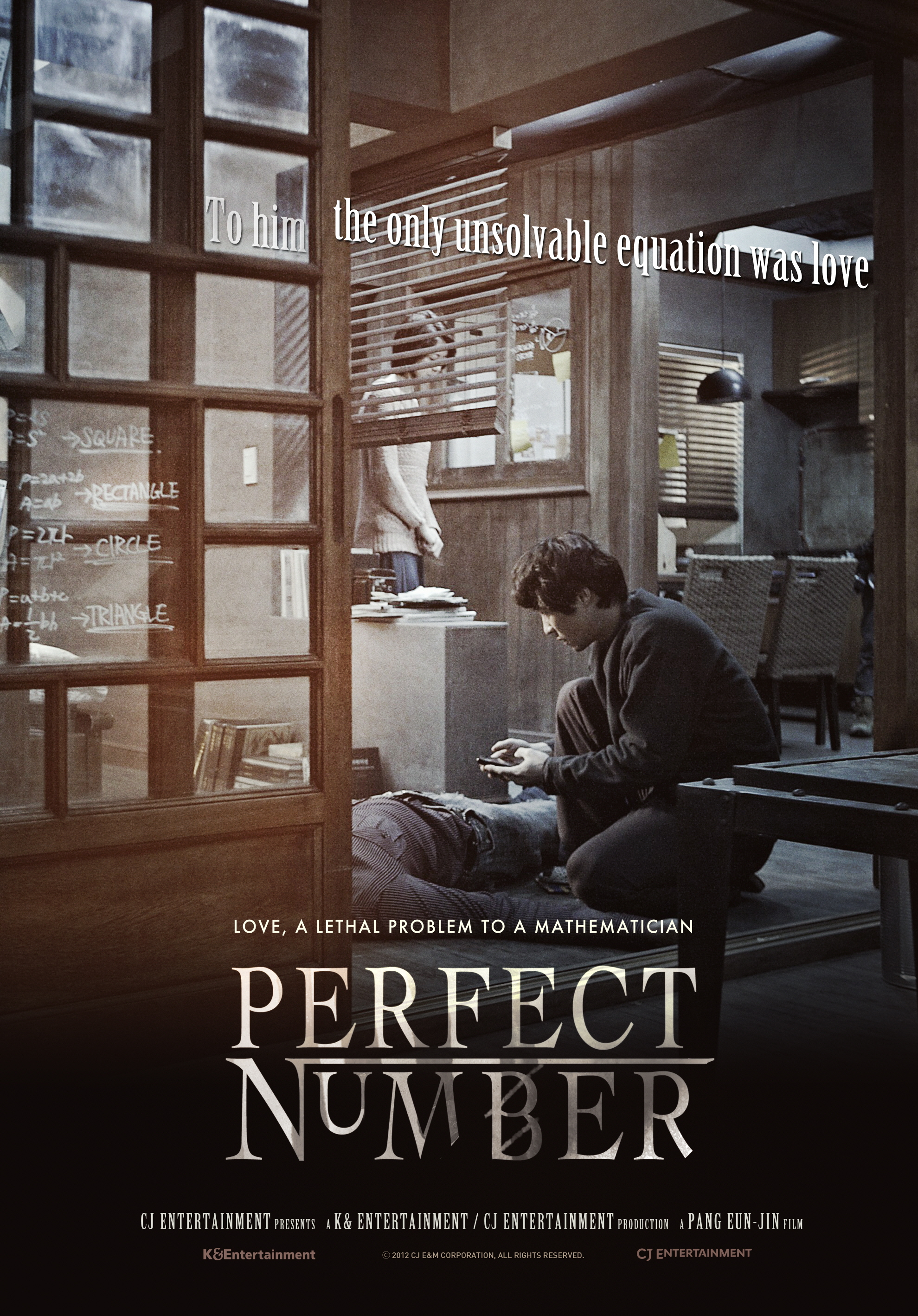 Įtariamasis X (2012) / Perfect Number (2012)
