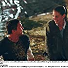 Katie Holmes and Marc Blucas in First Daughter (2004)