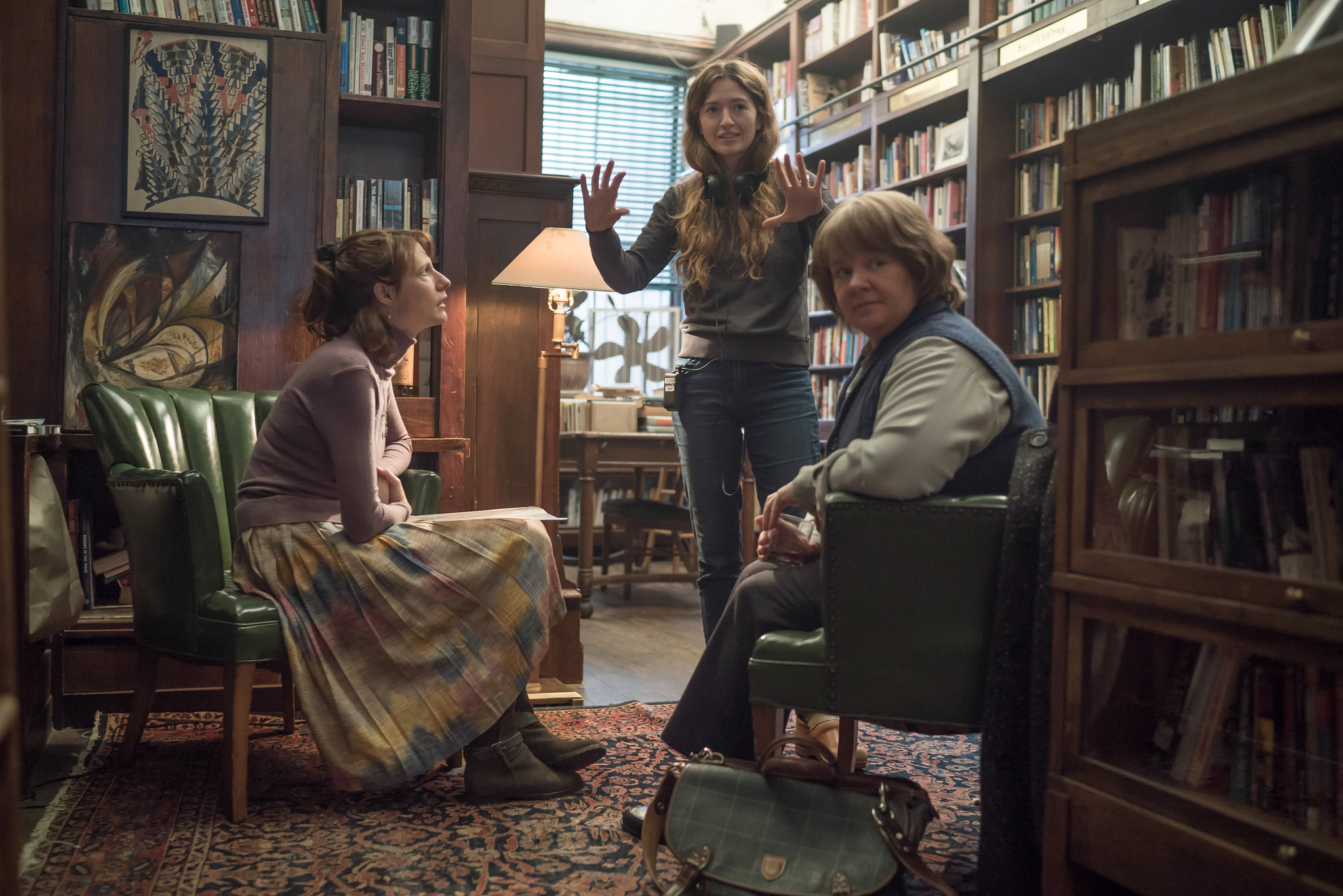 Melissa McCarthy, Dolly Wells, and Marielle Heller in Can You Ever Forgive Me? (2018)