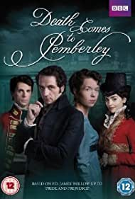 Matthew Goode, Matthew Rhys, Anna Maxwell Martin, and Jenna Coleman in Death Comes to Pemberley (2013)