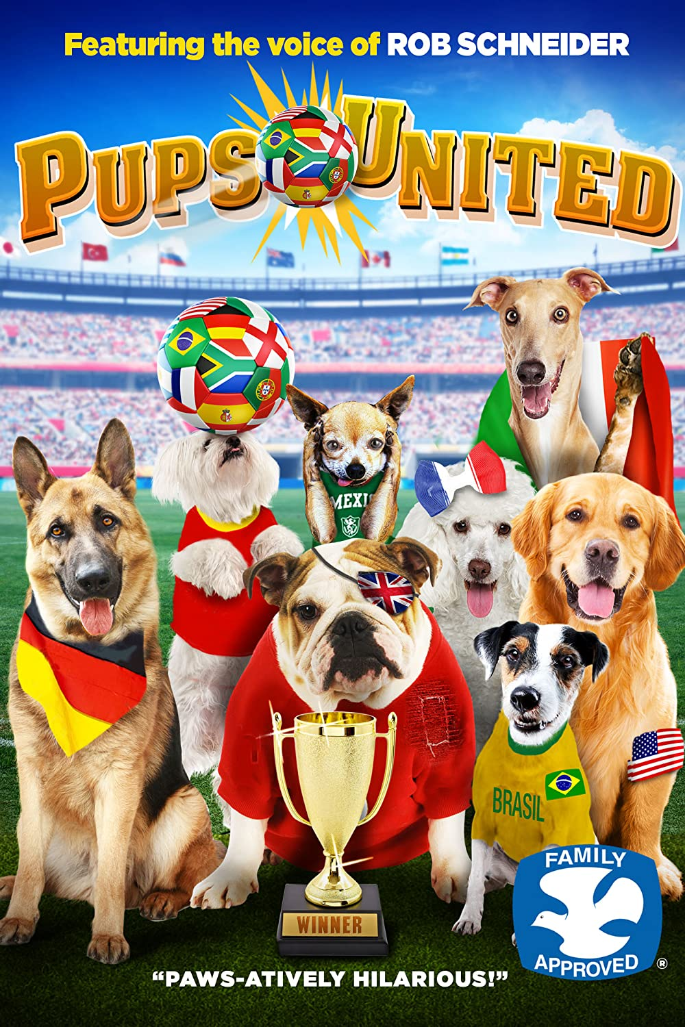 Pups United 2015 Hindi Dual Audio 305MB HDRip ESub Download