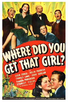 Leon Errol, Charles Lang, Franklin Pangborn, Helen Parrish, and Eddie Quillan in Where Did You Get That Girl? (1941)