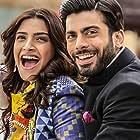 Sonam Kapoor and Fawad Khan in Khoobsurat (2014)