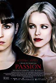Noomi Rapace and Rachel McAdams in Passion (2012)
