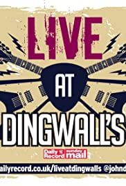 Live at Dingwall's Poster