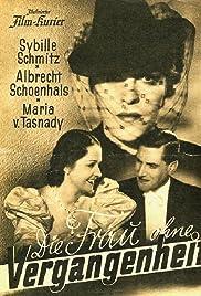 Die Frau ohne Vergangenheit Poster