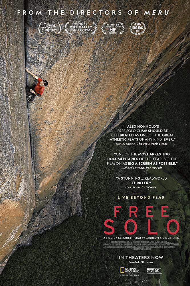 Alex Honnold in Free Solo (2018)