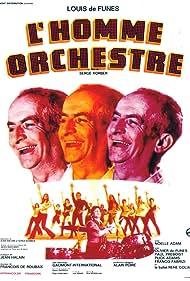 Louis de Funès in L'homme orchestre (1970)