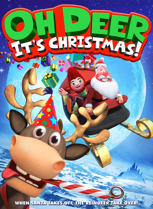The Grump Who Stole Christmas (Oh Deer, It's Christmas) Movie Poster