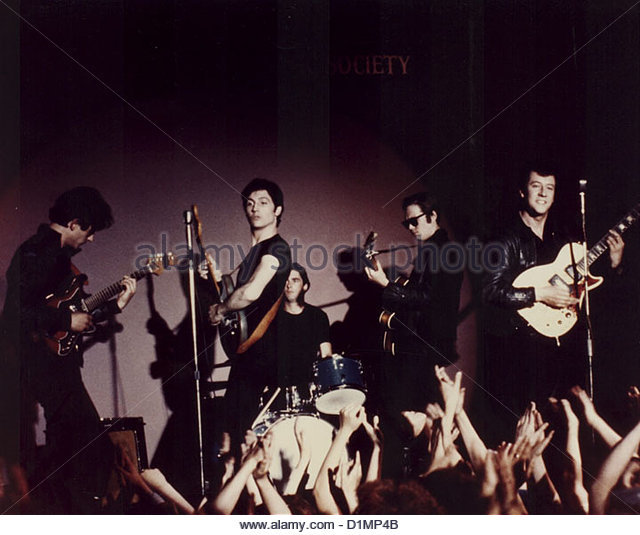 John Altman, Rod Culbertson, Stephen MacKenna, Michael Ryan, and David Wilkinson in Birth of the Beatles (1979)