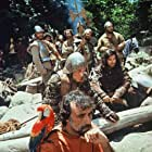 Klaus Kinski, Daniel Ades, and Ruy Guerra in Aguirre, der Zorn Gottes (1972)