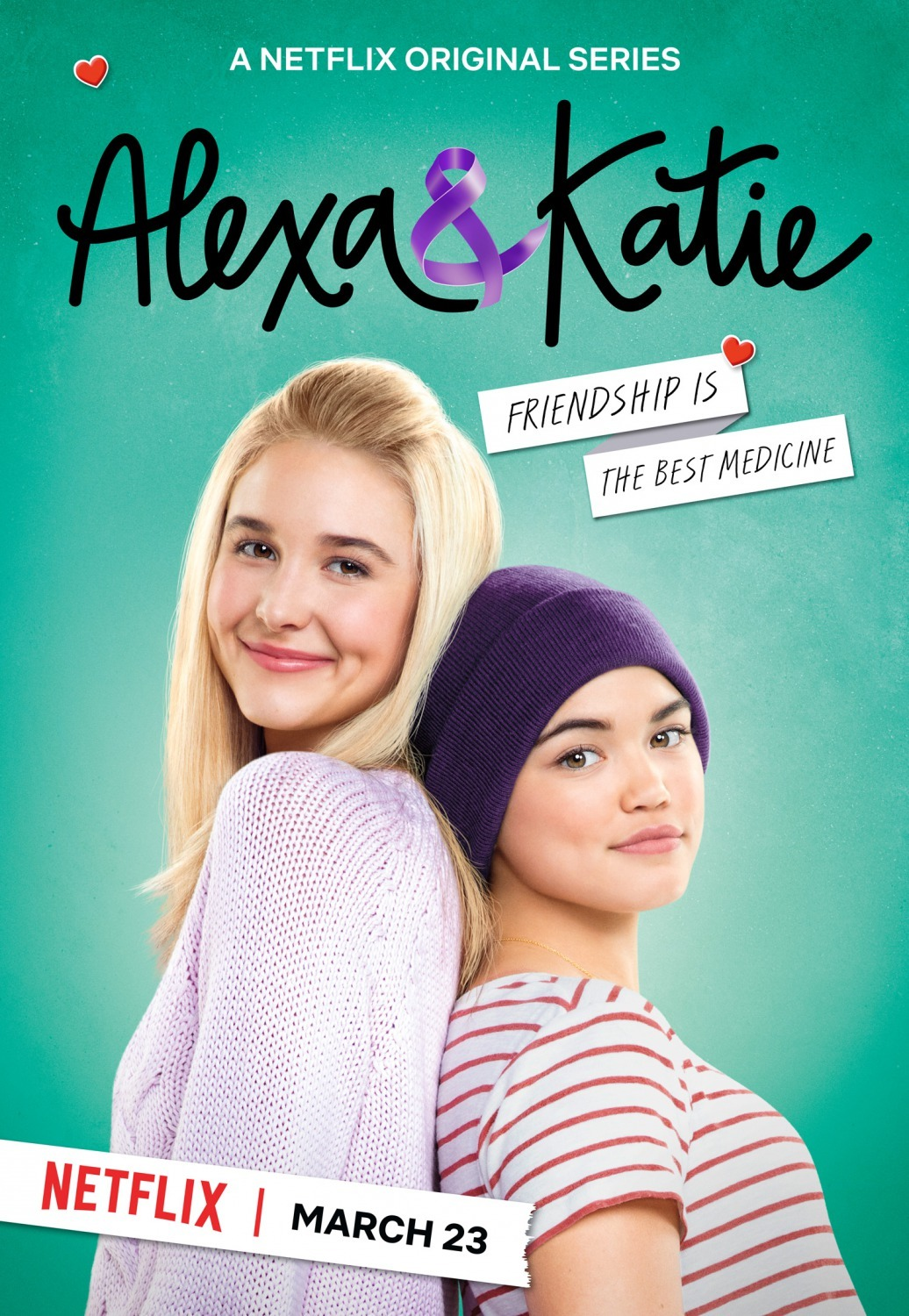 Paris Berelc and Isabel May in Alexa & Katie (2018)