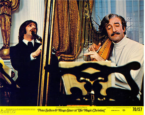 Peter Sellers And Ringo Starr In The Magic Christian 1969