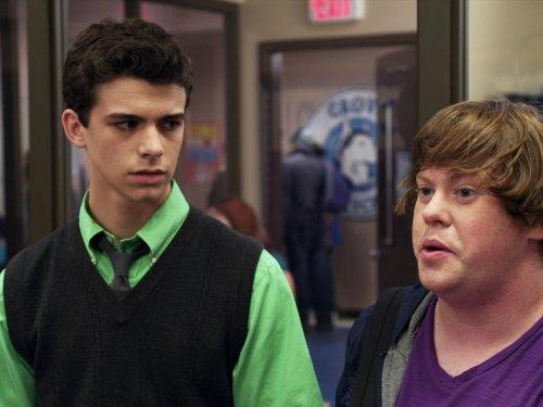 Joey Pollari and Zack Pearlman in The Inbetweeners (2012)