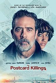 Jeffrey Dean Morgan and Cush Jumbo in The Postcard Killings (2020)