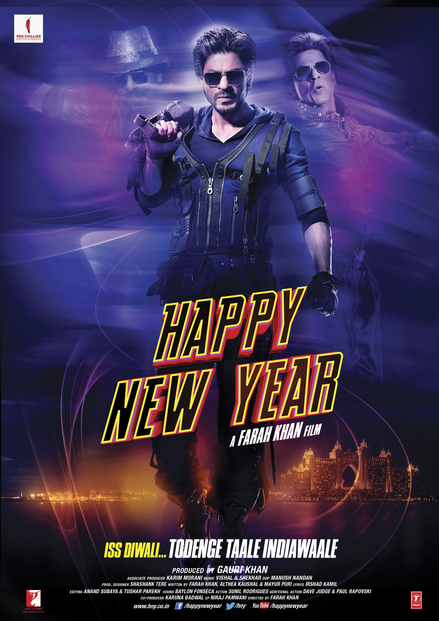 Happy New Year Movie Poster 17