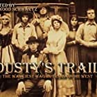Bob Denver, William Cort, Ivor Francis, Jeannine Riley, Lori Saunders, Forrest Tucker, and Lynn Wood in Dusty's Trail (1973)
