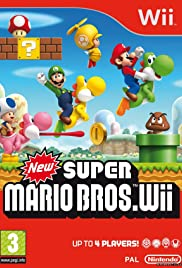 New Super Mario Bros. Wii (2009) Poster - Movie Forum, Cast, Reviews