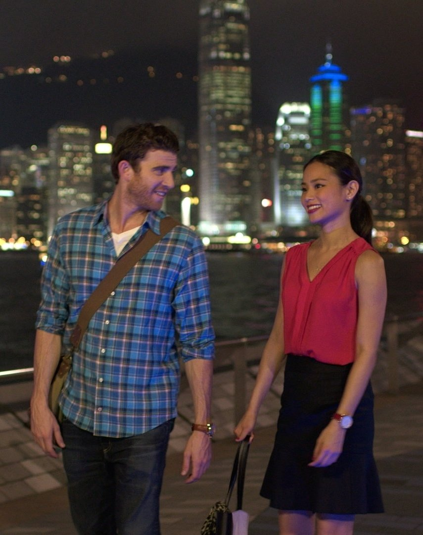 Bryan Greenberg and Jamie Chung in Already Tomorrow in Hong Kong (2015)