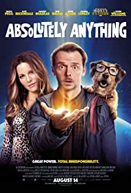 Kate Beckinsale, Simon Pegg, and Mojo in Absolutely Anything (2015)