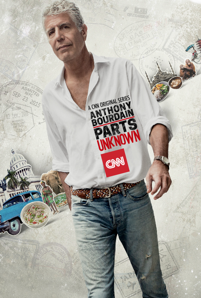 ANTHONIS BOURDAINAS. NEPAŽĮSTAMI KRAŠTAI (1 Sezonas) / ANTHONY BOURDAIN: PARTS UNKNOWN Season 1