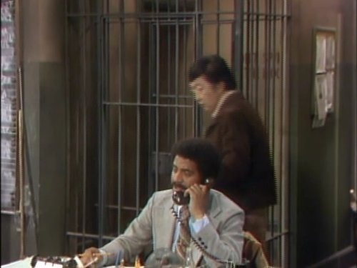 Ron Glass and Jack Soo in Barney Miller (1975)