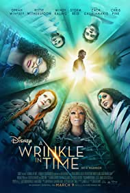 Reese Witherspoon, Oprah Winfrey, Mindy Kaling, Chris Pine, Storm Reid, Levi Miller, and Deric McCabe in A Wrinkle in Time (2018)