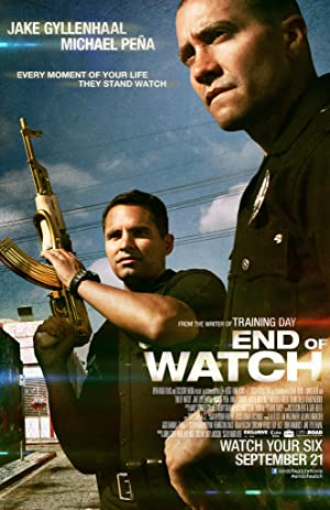 End of Watch Poster