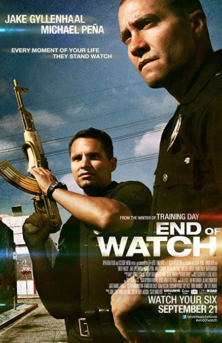 [R] End of Watch (2012) English Blu-Ray - 480P | 720P - x264 - 400MB | 900MB - Download & Watch Online With Subtitle Movie Poster - mlsbd
