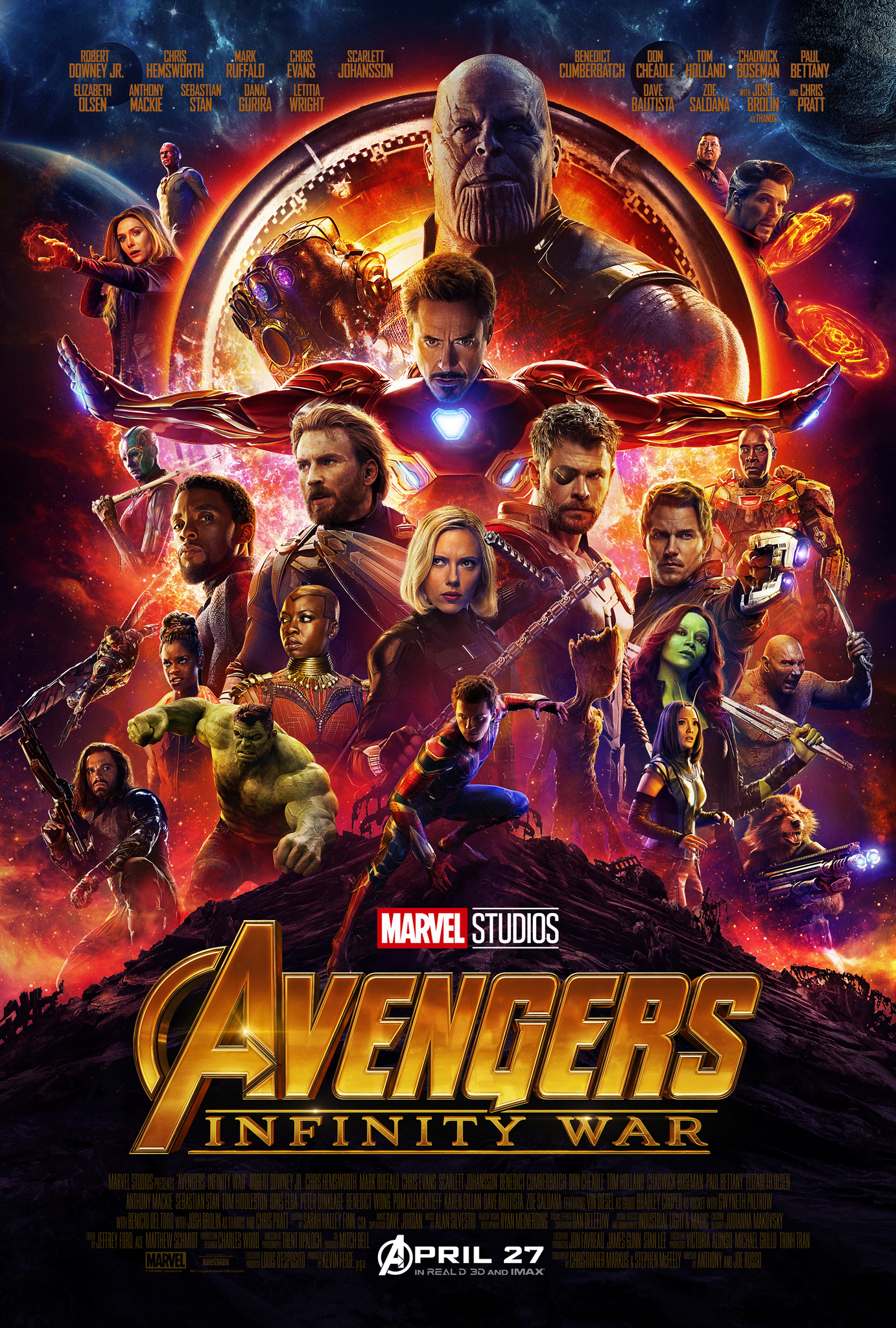 Image result for infinity war movie poster imdb""