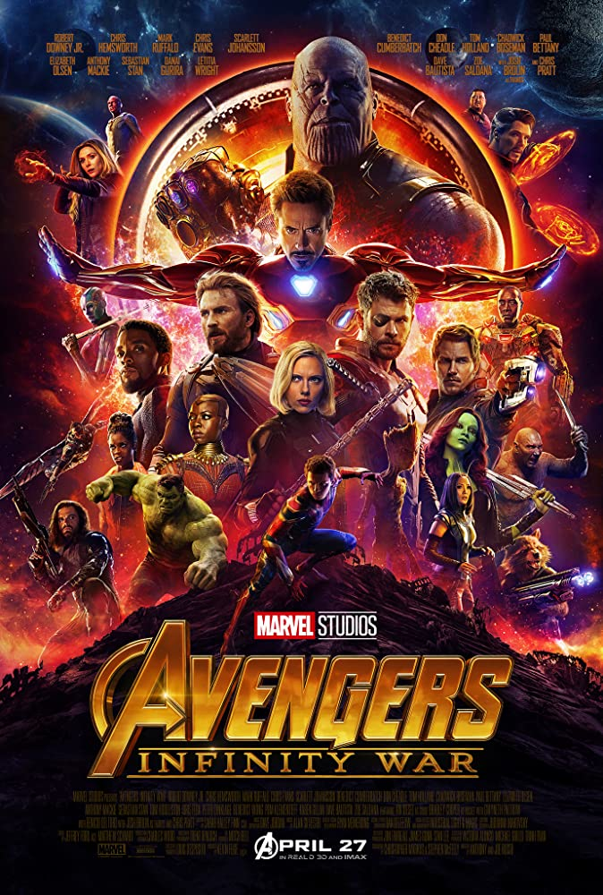 Avengers Infinity War (2018) BluRay 720p 1.6GB [Hindi Org – English] MKV
