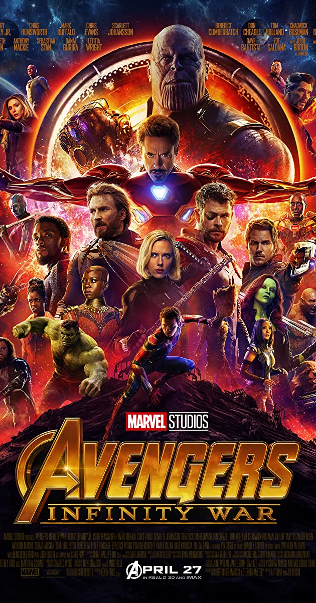 Avengers: Infinity War Hebrew Subtitles