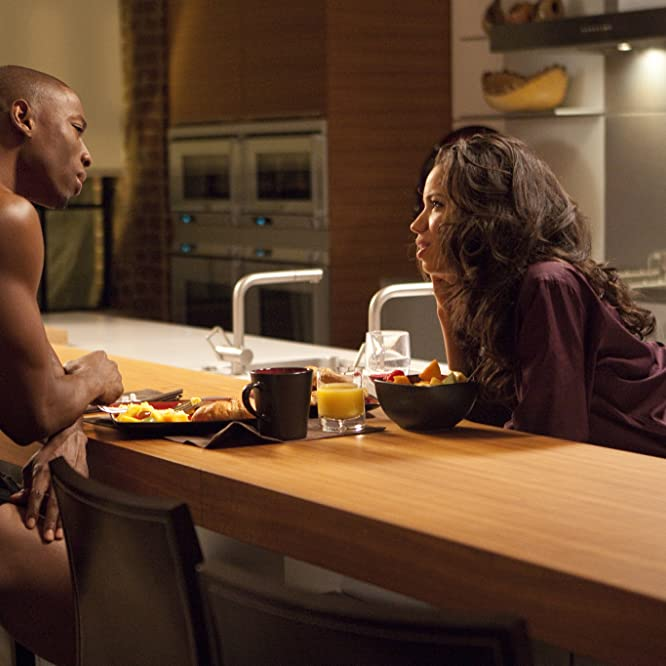 Robbie Jones and Jurnee Smollett-Bell in Temptation: Confessions of a Marriage Counselor (2013)
