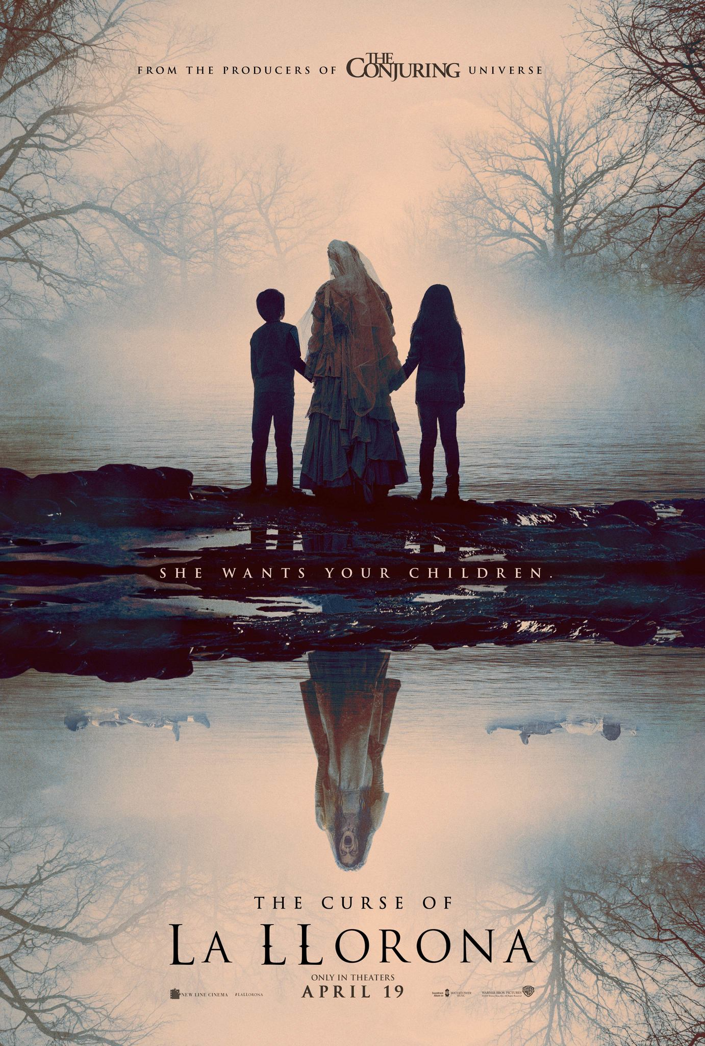 Image result for the curse of la llorona poster